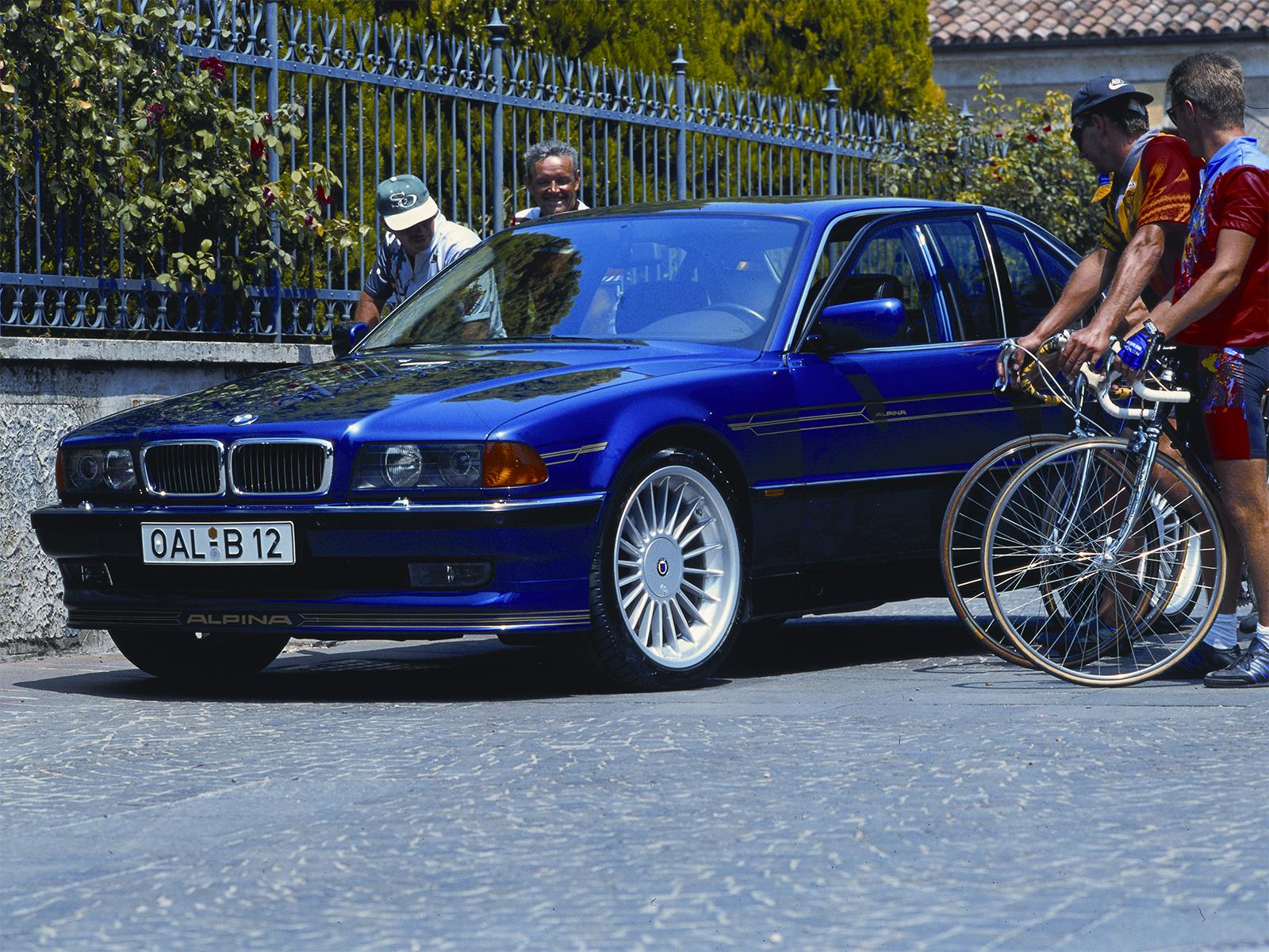 BMW ALPINA B12 57 E KAT